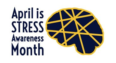 April Stress Awareness Month Banner